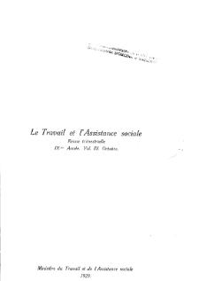 Praca i Opieka Społeczna : 1929, nr 3