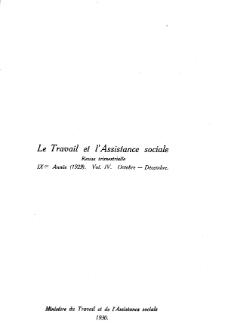 Praca i Opieka Społeczna : 1929, nr 4