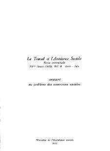 Praca i Opieka Społeczna : 1932, nr 2
