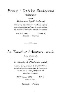 Praca i Opieka Społeczna : 1934, nr 2