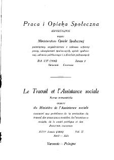 Praca i Opieka Społeczna : 1936, nr 2