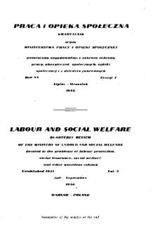 Praca i Opieka Społeczna : 1946, nr 3