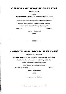 Praca i Opieka Społeczna : 1947, nr 3