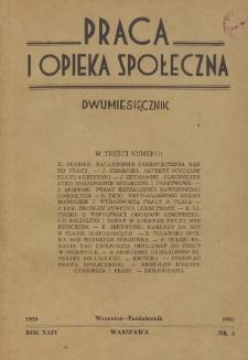 Praca i Opieka Społeczna : 1950, nr 4