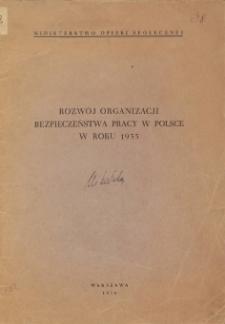 Rozwój organizacji bezpieczeństwa pracy w Polsce w roku 1935