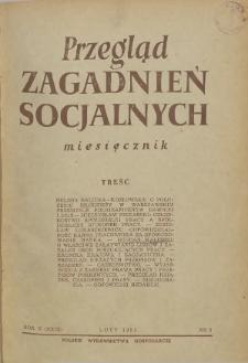 Przegląd Zagadnień Socjalnych : 1955, nr 2
