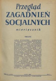Przegląd Zagadnień Socjalnych : 1956, nr 2