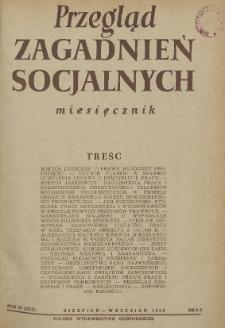 Przegląd Zagadnień Socjalnych : 1956, nr 8-9