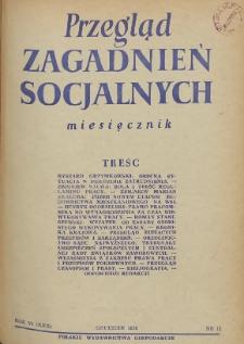 Przegląd Zagadnień Socjalnych : 1956, nr 12