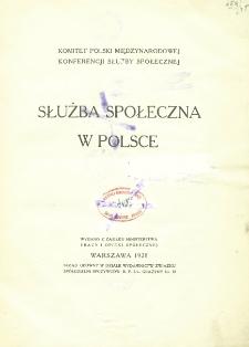 Służba społeczna w Polsce