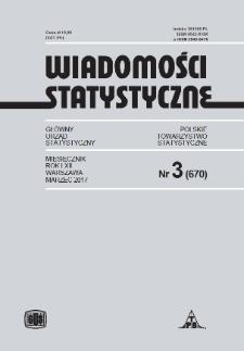 Wiadomości Statystyczne : 2017, nr 3