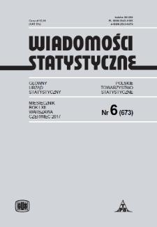 Wiadomości Statystyczne : 2017, nr 6