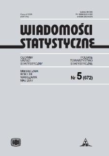 Wiadomości Statystyczne : 2017, nr 5