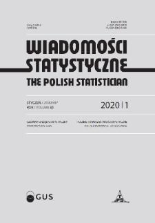 Wiadomości Statystyczne : 2020, nr 1