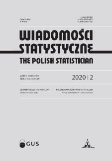 Wiadomości Statystyczne : 2020, nr 2