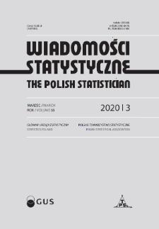 Wiadomości Statystyczne : 2020, nr 3