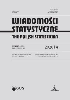 Wiadomości Statystyczne : 2020, nr 4
