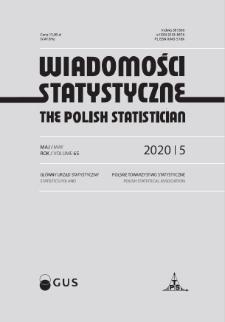 Wiadomości Statystyczne : 2020, nr 5