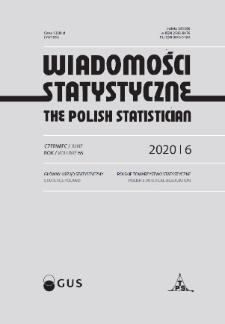 Wiadomości Statystyczne : 2020, nr 6
