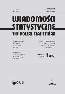 Wiadomości Statystyczne : 2019, nr 1