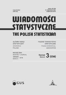 Wiadomości Statystyczne : 2019, nr 3