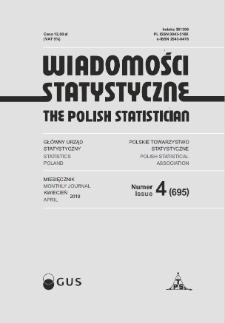 Wiadomości Statystyczne : 2019, nr 4