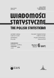 Wiadomości Statystyczne : 2019, nr 6