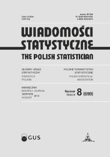 Wiadomości Statystyczne : 2019, nr 8