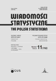 Wiadomości Statystyczne : 2019, nr 11
