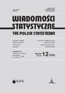 Wiadomości Statystyczne : 2019, nr 12