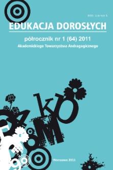 Edukacja Dorosłych : 2011, nr 1