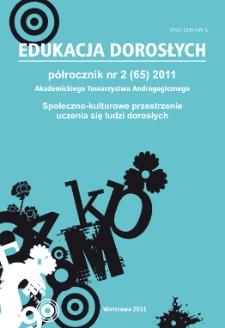 Edukacja Dorosłych : 2011, nr 2