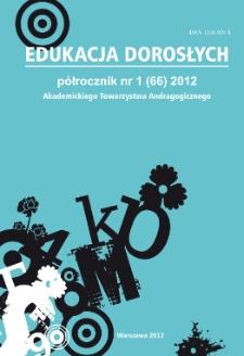 Edukacja Dorosłych : 2012, nr 1
