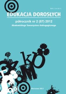 Edukacja Dorosłych : 2012, nr 2
