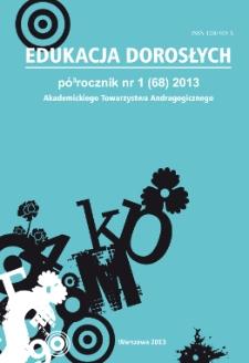 Edukacja Dorosłych : 2013, nr 1