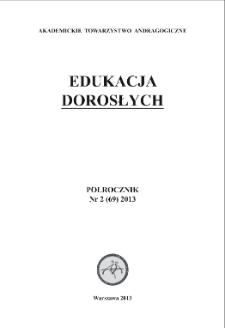 Edukacja Dorosłych : 2013, nr 2