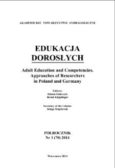 Edukacja Dorosłych : 2014, nr 1