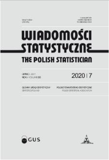 Wiadomości Statystyczne : 2020, nr 7