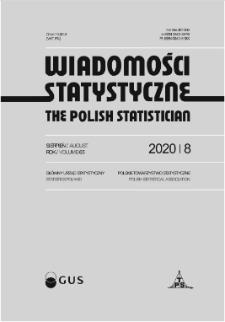 Wiadomości Statystyczne : 2020, nr 8