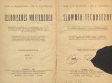 Słownik techniczny : część polsko-niemiecka. T. 2, P-Ż