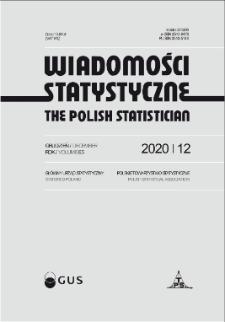 Wiadomości Statystyczne : 2020, nr 12