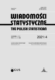 Wiadomości Statystyczne : 2021, nr 4