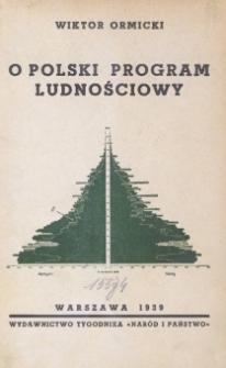 O polski program ludnościowy