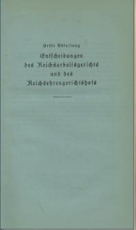 Arbeitsrechts-Sammlung. Bd. 39, Entscheidungen des Reichsarbeitsgerichts und des Reichsehrengerichtshofs, der Landesarbeitsgerichte, Arbeitsgerichte und Ehrengerichte