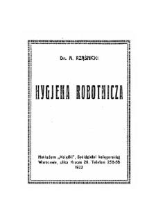 Hygjena robotnicza