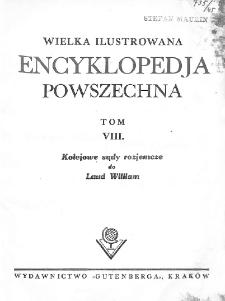 Wielka ilustrowana encyklopedja powszechna. T. 8. Kolejowe sądy rozjemcze do Laud William