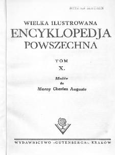 Wielka ilustrowana encyklopedja powszechna. T. 10, Małże do Morny Charles Auguste