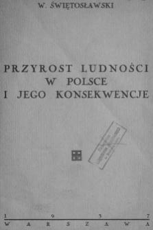 Przyrost ludności w Polsce i jego konsekwencje