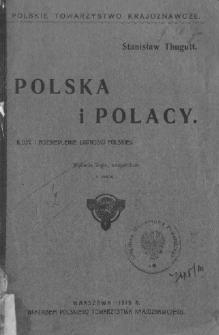 Polska i Polacy : ilość i rozsiedlenie ludności polskiej